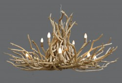 Twig Chandelier - Double Tier